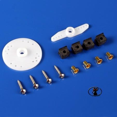 445610-3941.3 Squadrette e accessori servocomando JR Graupner standard