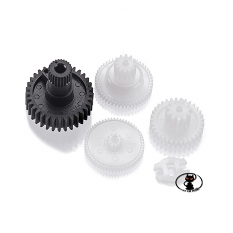 446435-Nylon gear replacement kit for Futaba S 3010 servo control