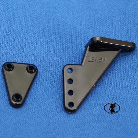 HCAQ8084 Squadretta grande H34 mm foro 2,5 mm