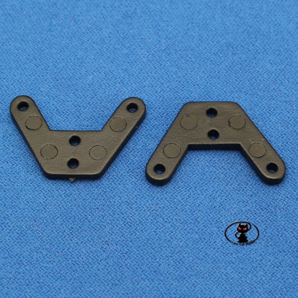 HCAQ8096 Squadretta push pull comando timone larghezza 25 mm