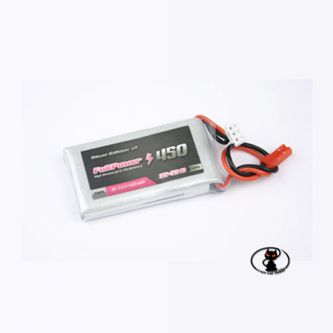 447674 Lipo Battery 450 mAh 2S 7.4 Volt - FullPower 35C continuous 50C peak 2 cells