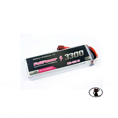 447692 Lipo 2S battery 3300 mAh FullPower V2 2-cell 2S 35 C continuous