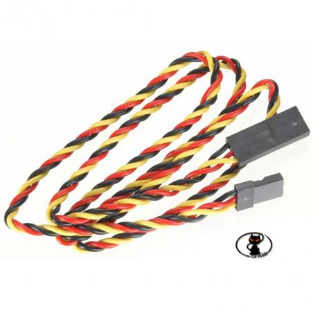 54611S Prolunga per servocomandi twisted con connettore UNIversale, lunghezza 60 cm confezione da 1 pezzo