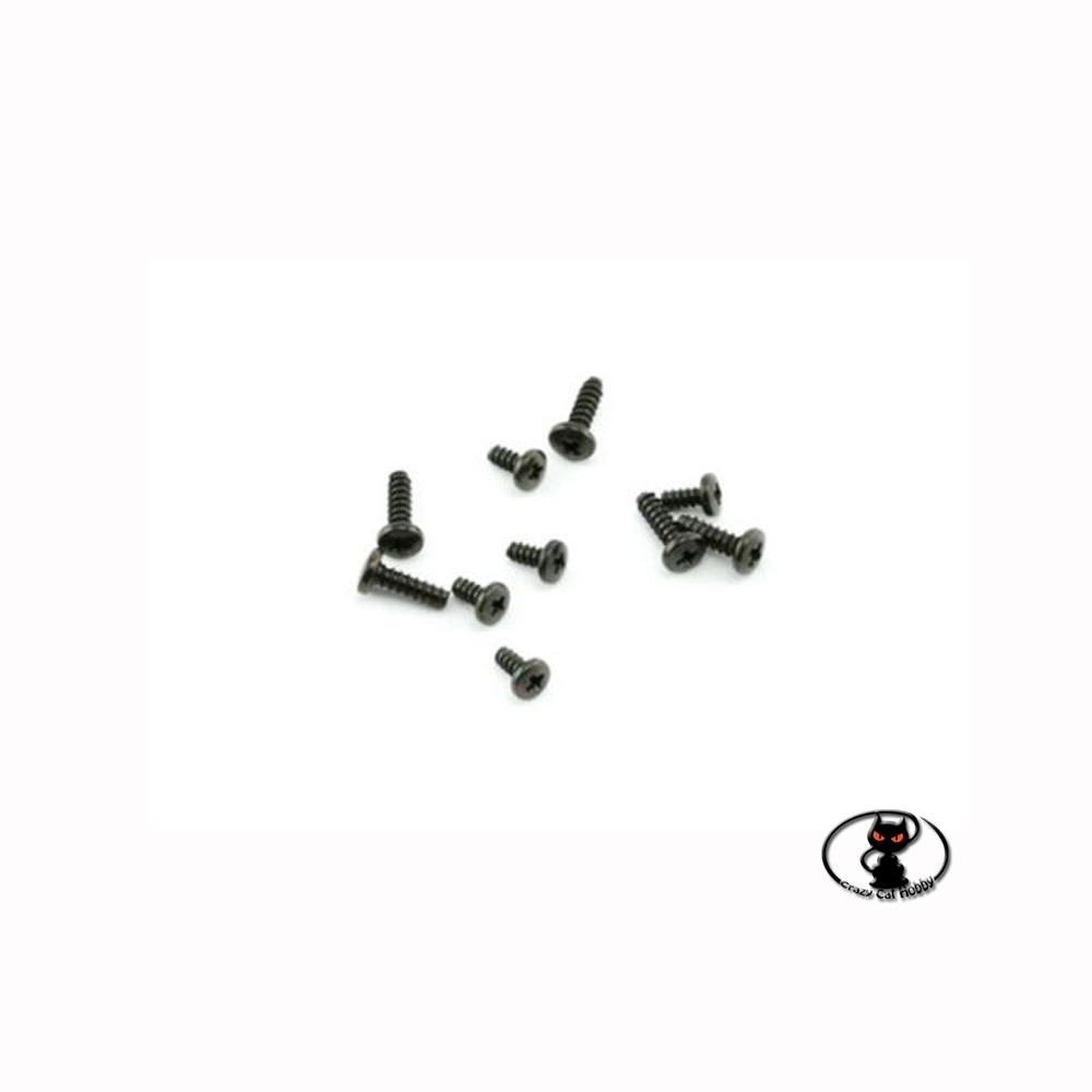 Set di viti per servocomando HITEC con ingranaggi in nylon standard e mini  10 pezzi