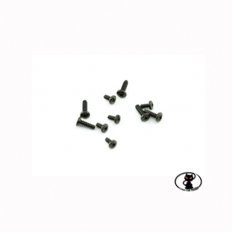 Screw set for HITEC servo control with standard and mini nylon gears 10 pieces