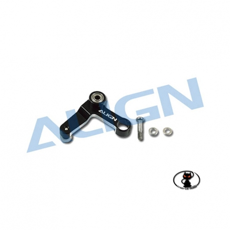 Metal Tail Rotor Control Arm Black for T-REX 450 Helicopters HS1295