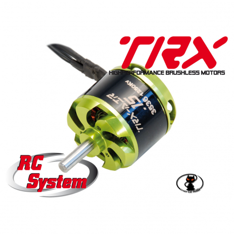 RCM0A0008 Brushless motor RCS TRX class 15 3536 1250kv Brushless motor 496 watt article