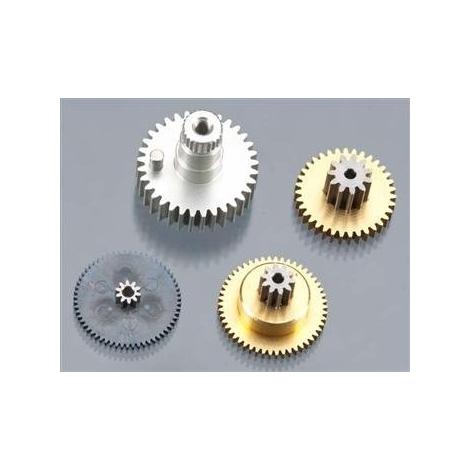 PN55343 Kit ricambio ingranaggi in metallo per servocomando Hitec HS-5585MH