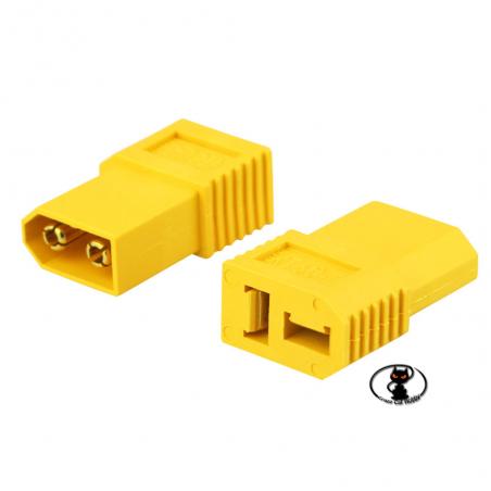 600269 Adattatore XT60 - deans per avere connettori XT 60 su DEANS
