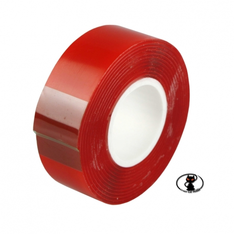 650007 Duo Tepufix double-sided tape 20x1500 mm, gel type, high performance for long-lasting fastenings